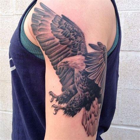 eagle tattoo half sleeve 4 amazing eagle tattoos