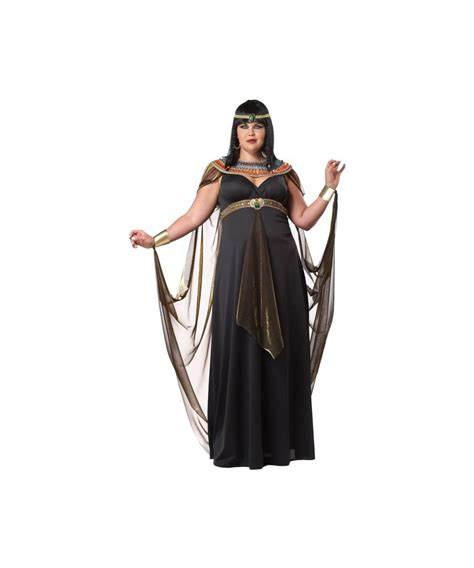 of the nile plus size cleopatra costume