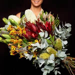 Bunch Of Flowers In A Vase The Big Australian Native Flowers Xlarge Emergency