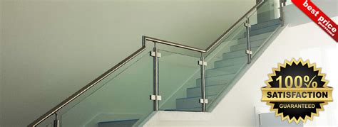 Banister Fittings Stainless Steel Stair Parts Modern Stair Railing Components