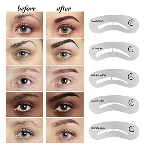 eye brow template 32 best images about great ideas on