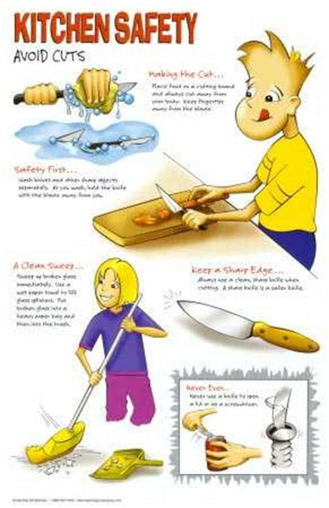 Exles Of Accidents In The Kitchen by Basic Kitchen Safety Tips