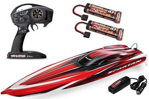 traxxas velineon boat traxxas 57076 1 spartan brushless boat rtr with 6s marine