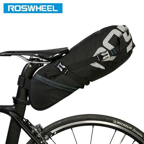 Bicycle Bag roswheel 131414 bicycle seatpost bag bike saddle seat