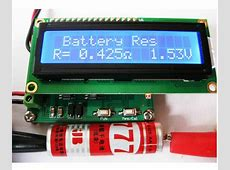 Internal Battery Resistance Impedance Tester Voltmeter+ In ... Capacitor Tester