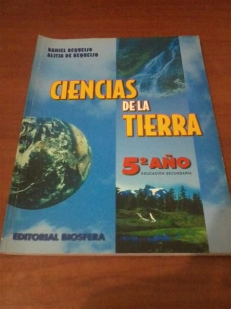 libro tierra de cos libro ciencias de la tierra 5to a 241 o editorial biosfera bs 2 000 00 en mercado libre