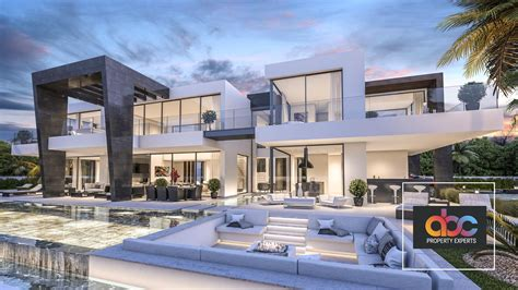 villa modern modern villa for sale in urbanization bel air estepona