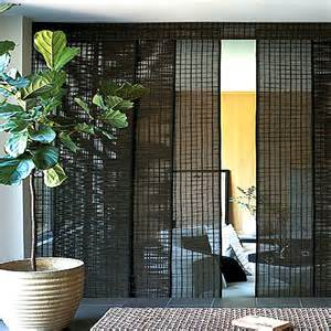 Bamboo Curtains For Sliding Glass Doors Doors And Windows Blinds Miami Sliding Panels Bamboo