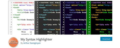 wordpress theme editor code highlight 10 free wordpress plugins for displaying and editing code