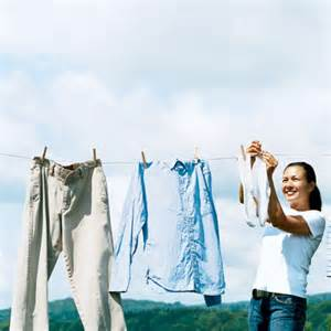 use a clothesline 15 green projects for 500