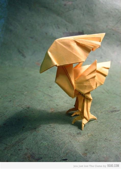 origami chocobo 27 best ff7 chocobo images on