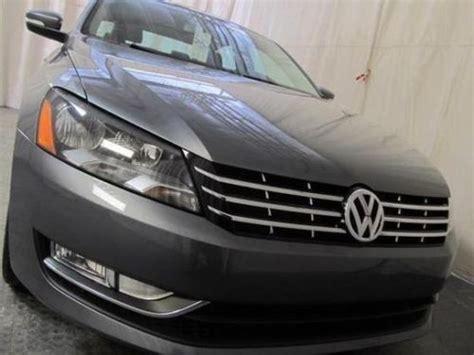 2013 Volkswagen Passat Tdi Mpg by Buy Used 2013 Volkswagen Passat Tdi Sel Premium Diesel