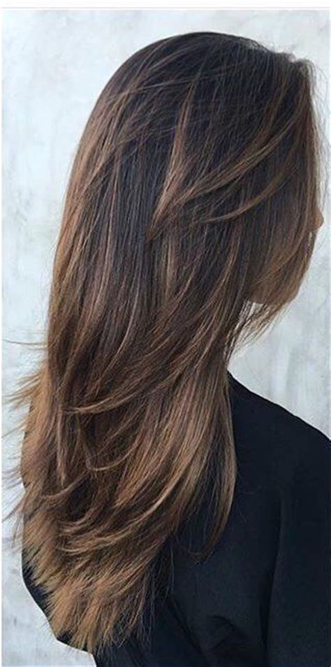 long to short u shape haircut with flicks youtube 9 best