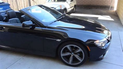 All Don Black For The Black 2008 Collection Show by 2008 Bmw 650i Black On Black Convertible