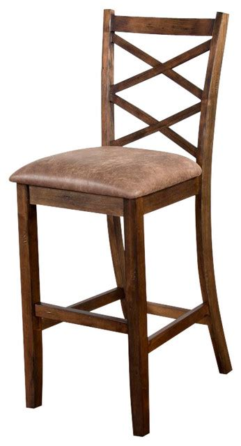 Craftsman Style Counter Stools by Designs Barstool With Cushion Seat