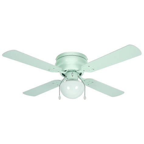 hugger ceiling fans 42 quot white flush mount hugger ceiling fan 543603 ebay