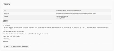 Customizable Email Templates For Employee Communication Communication Email Templates