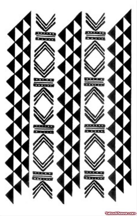 polynesian triangle pattern tattoo meaning traditional hawaiian tattoos design tattoo viewer com