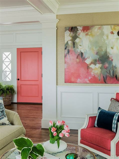 inside decor and design kansas city sherwin williams 2015 color of the year coral reef