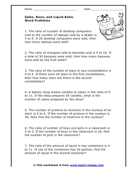 Proportions Word Problems Worksheet by All Worksheets 187 Ratio And Proportion Worksheets