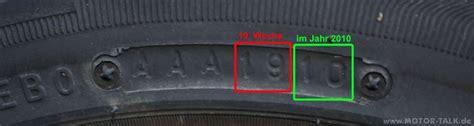Motorrad Reifen Alter by 28 Reifen Herstellzeit Reifenalter Bestimmen Reifen