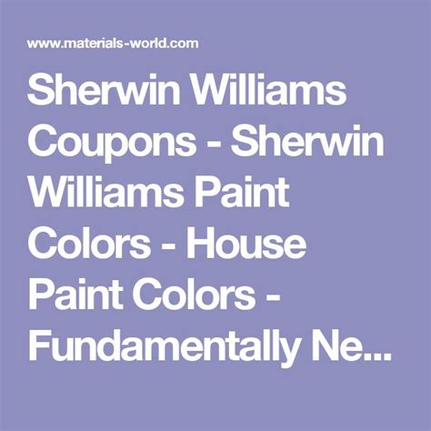 best 25 sherwin williams coupon ideas on sherwin williams paint coupons sherman