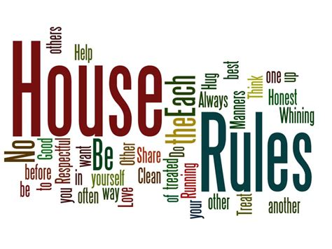 house rules the newsroom macleay college 187 my house my rules