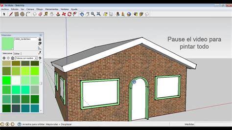 casa it como sketchup como hacer una casa basica
