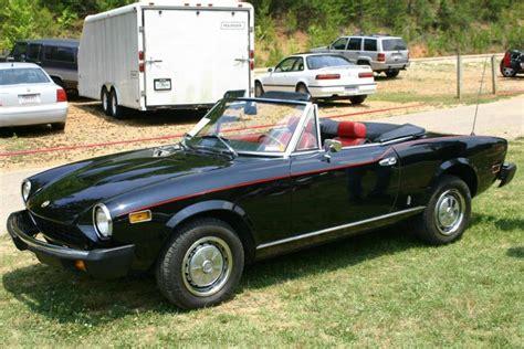 fiat 124 spider 1978 1978 fiat 124 spider sports car