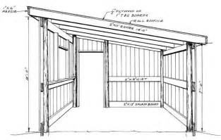 Free Barn Plans by How To Build A Pole Shed Free Plans Quick Woodworking