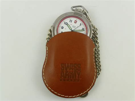 Swiss Army Chain Silver swiss army stainless steel chain pocket casual ebay