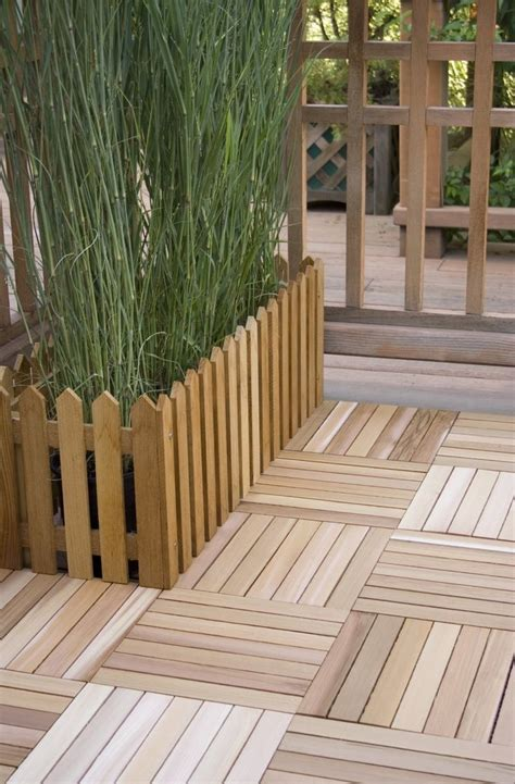 17 best ideas about wood deck tiles on outdoor