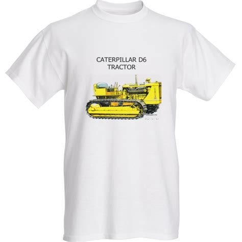 T Shirt Caterpillar White caterpillar classic tractor t shirts xl 100 cotton
