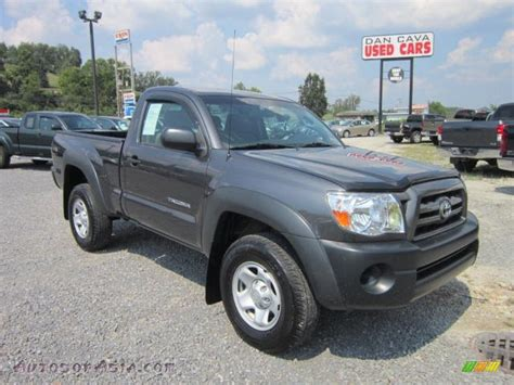 2010 Toyota Tacoma 4x4 For Sale 2010 Toyota Tacoma Regular Cab 4x4 In Magnetic Gray