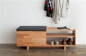 Shoe Storage Bench Entryway Laxseries Storage Bench Modern Entry Los Angeles