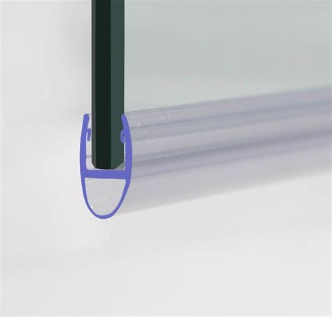 Shower Glass Door Seal Rubber Plastic Curved Shower Screen Bath Door Seal For 4 6mm Glass Door Ebay
