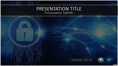 Free Internet Security Powerpoint 53921 Sagefox Cyber Security Presentation Free