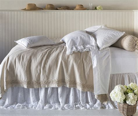 lace coverlet capri coverlet with lace by bella notte