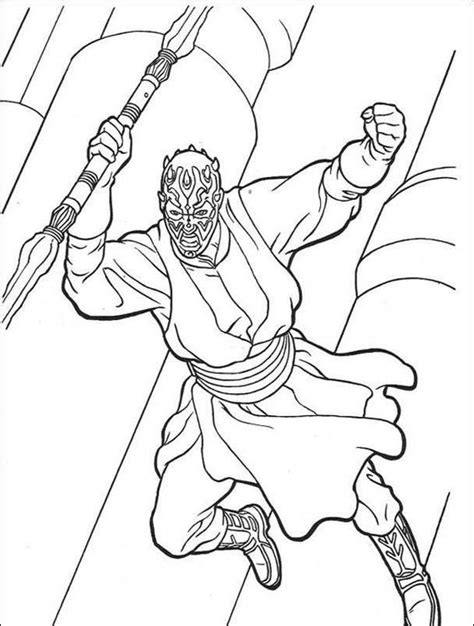 lego wars darth maul coloring pages darth maul wars coloring pages let s color
