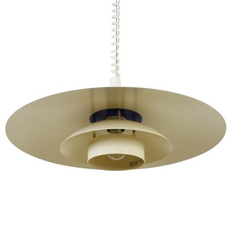 Ceiling Light Pull Multilayer Scandinavian Pendant Ceiling Light With Pull Wiring 1970s 1007