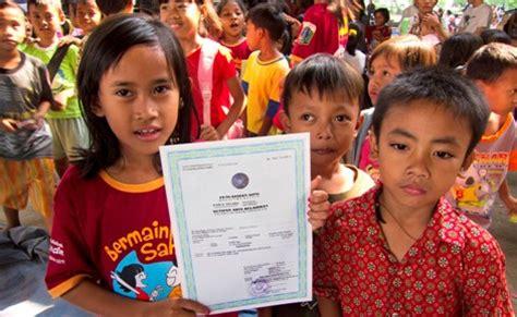 pembuatan akta kelahiran jakarta akta kelahiran adalah hak setiap anak indonesia batalkan