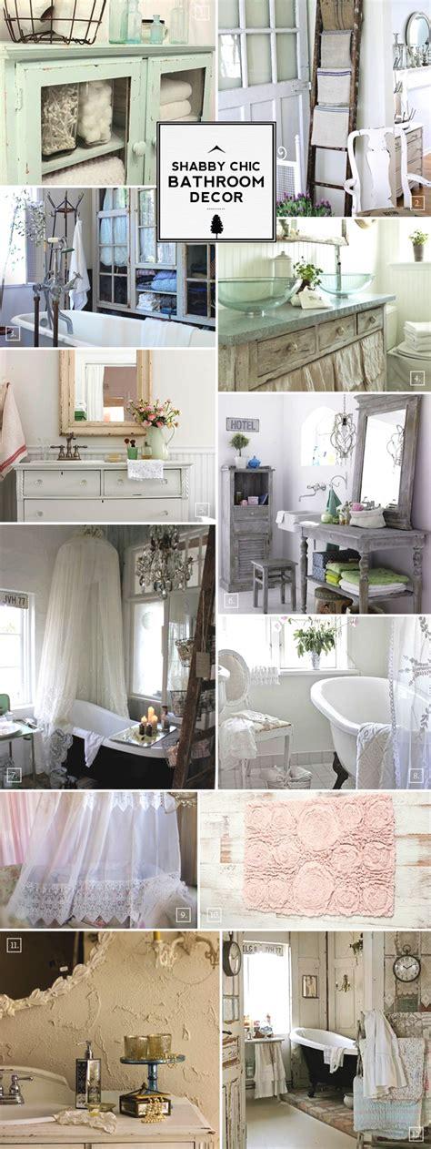 shabby chic bathroom ideas  decor designs home tree atlas