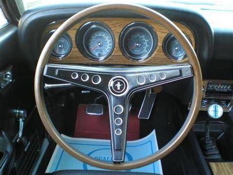 1969 mustang mach i fastback interior mechanic tech