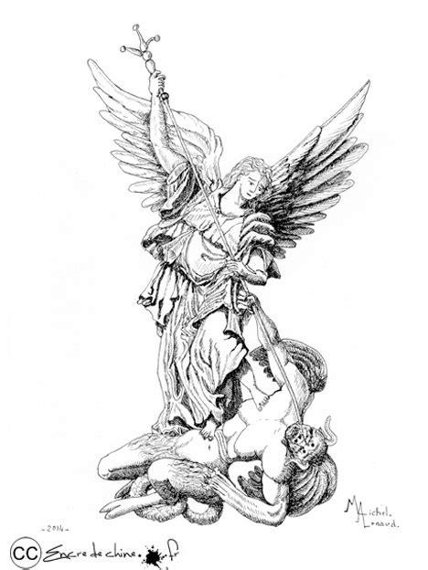 dessin encre de chine peinture carte postale michel d 233 mon