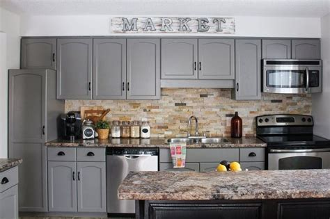 grey kitchen cabinets grey cabinets cabinet diy our kitchen cabinet makeover hometalk