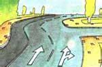 yol cizgileri bilgisiyol isaretlerireflektoertrafikte