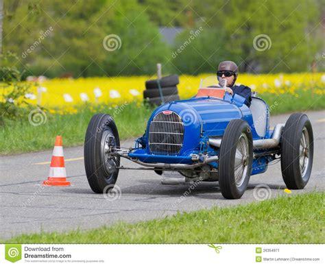 Vintage Pre War Race Car Bugatti T Editorial Photo Image