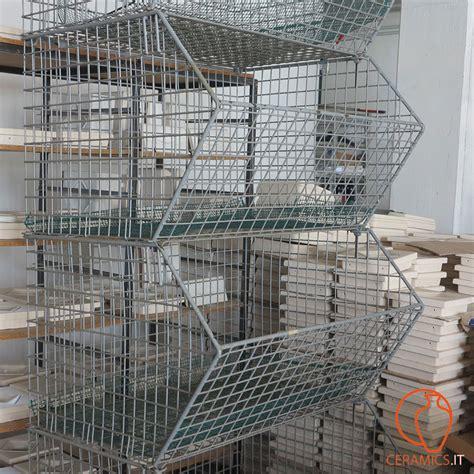 scaffali per magazzino usati ceramics ceste metalliche per magazzino usate
