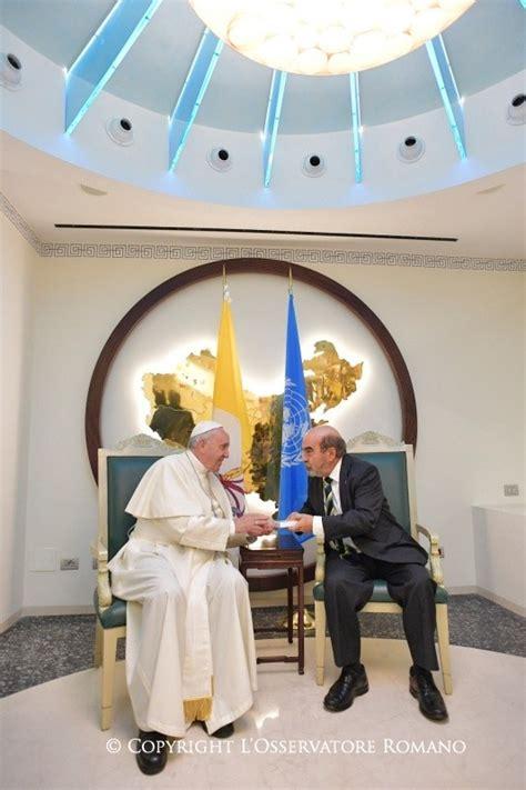 sede della fao visita santo padre alla sede della fao a roma