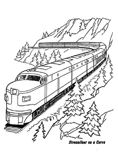 coloring pages train conductor train conductor free colouring pages